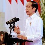 Presiden Tegaskan Kesiapannya Sebagai Penerima Vaksin Pertama Di Depan Pelaku UMK.