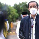 Presiden Instruksikan Perbaikan Sarana Penghubung yang Rusak Akibat Banjir di Kalimantan Selatan.