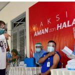 Hari Ini Presiden Jokowi Tinjau Vaksinasi Massal di Kota Yogyakarta.