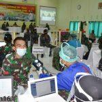 Serbuan Vaksinasi TNI Polri Dalam Rangka Penanganan Covid-19.