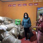 Pj Ketua TP PKK Malaka Sambangi Rumah Produksi Marungga Organik di Io Kufeu - Malaka - NTT