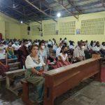 Penjabat Bupati Malaka, Hadiri Perayaan Kamis Putih di Gereja Kamanasa