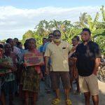 Peduli Kemanusiaan, Partai Golkar Malaka Berbagi Kasih Bersama Warga Terdampak Banjir
