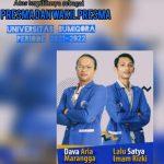 Dava Aria Marangga dan Lalu Satya Imam Rizki Terpilih Sebagai Presma dan Wapresma Universitas Bumi Gora NTB Periode 2021-2022