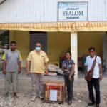 ABS Serahkan Genset Bang Melki Kepada Jemaat GMIT Syalom MakwarKetua DPD II Partai Golkar Kabupaten Malaka,
