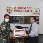 Komandan Korem 161/WS Terima Kunjungan Silaturahmi Kepala Perwakilan BI, NTT.
