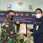 """PT.ASABRI MENYERAHKAN SANTUNAN BAGI PRAJURIT TNI - AD YANG GUGUR DI DAERAH TUGAS, *""""PUTRA TERBAIK NTT""""*."""