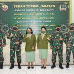 Komandan Korem 161/Wira Sakti Pimpin Sertijab Kasi Log Kasrem 161/WS dan Dandim 1603/Sikka.