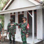 Dandim 0828/Sampang - Madura Pantau Sasaran Fisik TMMD Ke - 111 TA 2021 di DesaxBringin - Tambelangan - Sampang.
