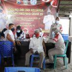 Peringati Hari Bhayangkara ke 75 - Polres Sumenep Gelar Vaksin Gratis