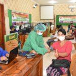 Masyarakat Kota Kupang Berbondong-Bondong Datangi RST/Wira Sakti.