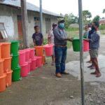 Polsek Weliman Semakin Gencar Kampanyekan Penerapan Protokol Covid 19 di Desa -Desa